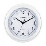 Часы настенные Scarlett SC-55QG круг плав ст/пласт бел/бел