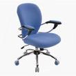 VB Кресло CH661AXSN,хром, ткань синяя