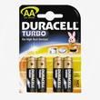 батарейка DURACELL AA/LR6 алкалин. бл/4
