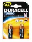 батарейка DURACELL Turbo AA/LR6 алкалин. бл/2