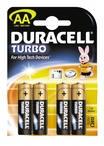батарейка DURACELL Turbo AA/LR6 алкалин. бл/4