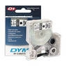 DYMO LM150,LP350 12ммх7м,чер/бел пласт S0720530 D1