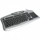 Клавиатура A4Tech KL(S)-7MU пров PS/2 сер.