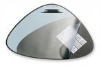 DURABLE 7208-01 треугольный 69х51 черный Германия