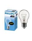 Philips стандартная/прозрачная 75W E27 CL/A55 (10/120)