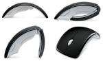 Мышь лазерная Microsoft Arc Mouse (ZJA-00010) черная