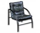 Мягк.меб*D_Тодес-1 кресло офисное черн.