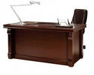 BERN стол письменный, BRN 86100, 160*80*76, цвет палисандр