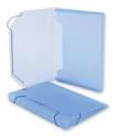 на резинках ATTACHE Т330/5 А4, синий, 25мм, полупро