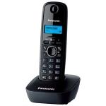 Телефон PANASONIC KX-TG1611RUH(серый),АОН,русс.меню