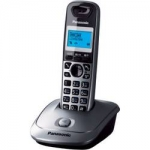 Телефон Panasonic KX-TG2511RUM DECT серый металлик