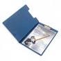BANTEX 4210-01 A4 синий с верх.створкой Россия