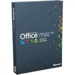 Microsoft Office Mac 2011 для дома и бизнеса(1ПК)W6F-00036