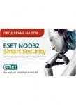 Антивирус ESET NOD32 Smart Security (карта продления)