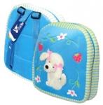 Рюкзак детский  26*24см Собачка на голубом EaSTar