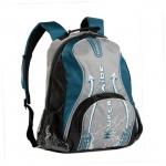 Рюкзак молодежный РМ-1126 серый-синий